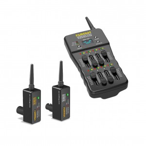 Wireless DMX Control