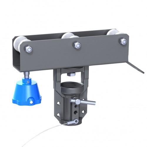 Twist lock Carriage 80 with Ø28mm Socket