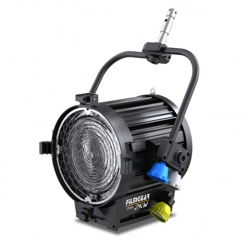 Tungsten TV Fresnel 2000W Pole Operated
