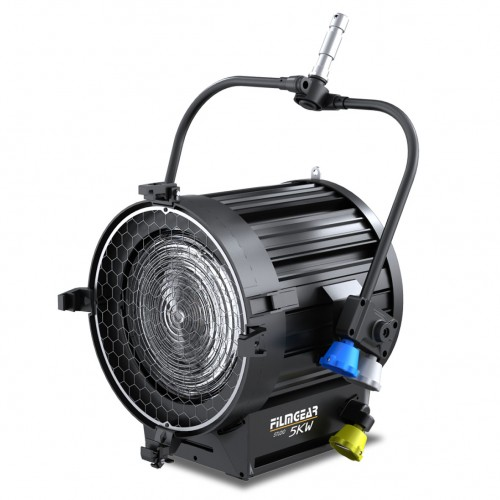 Tungsten TV Fresnel 5000W Pole Operated